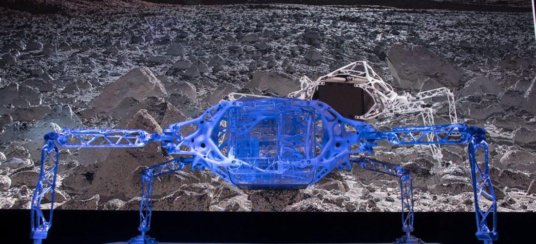 Concept di atterraggio con Nasa e Autodesk