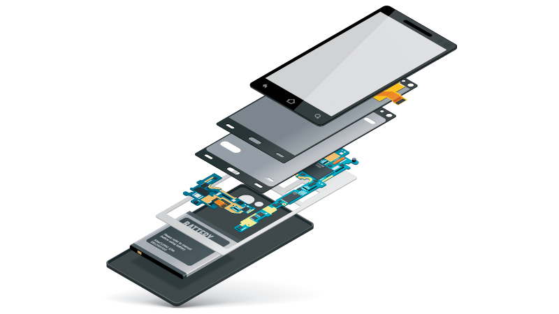 Oppo, il display per smartphone retrattile