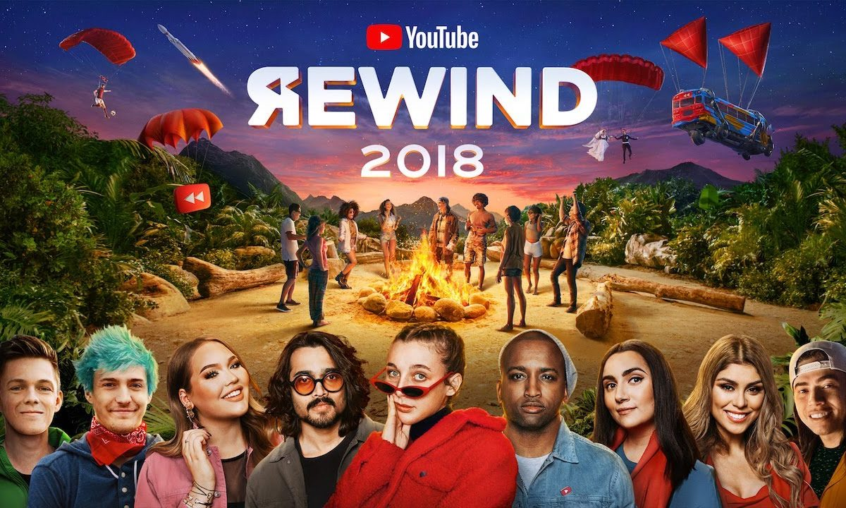 YouTube Rewind 2018 problemi