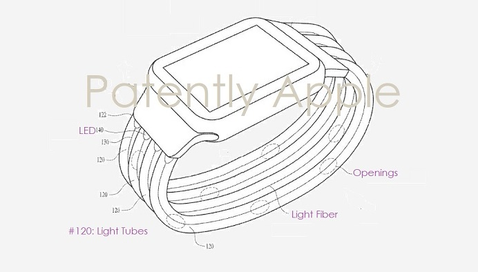 Apple brevetta il cinturino camaleonte
