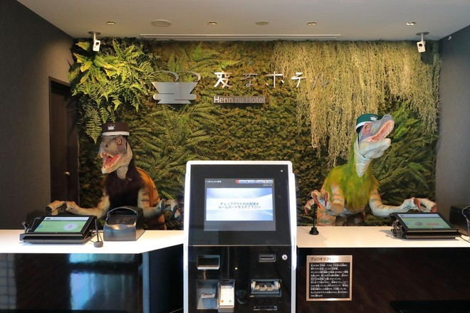 Hotel in Giappone gestito da robot chiude