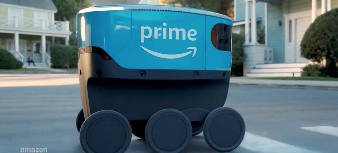 Amazon Scout – I robot che lavoreranno dal lunedi al venerdì