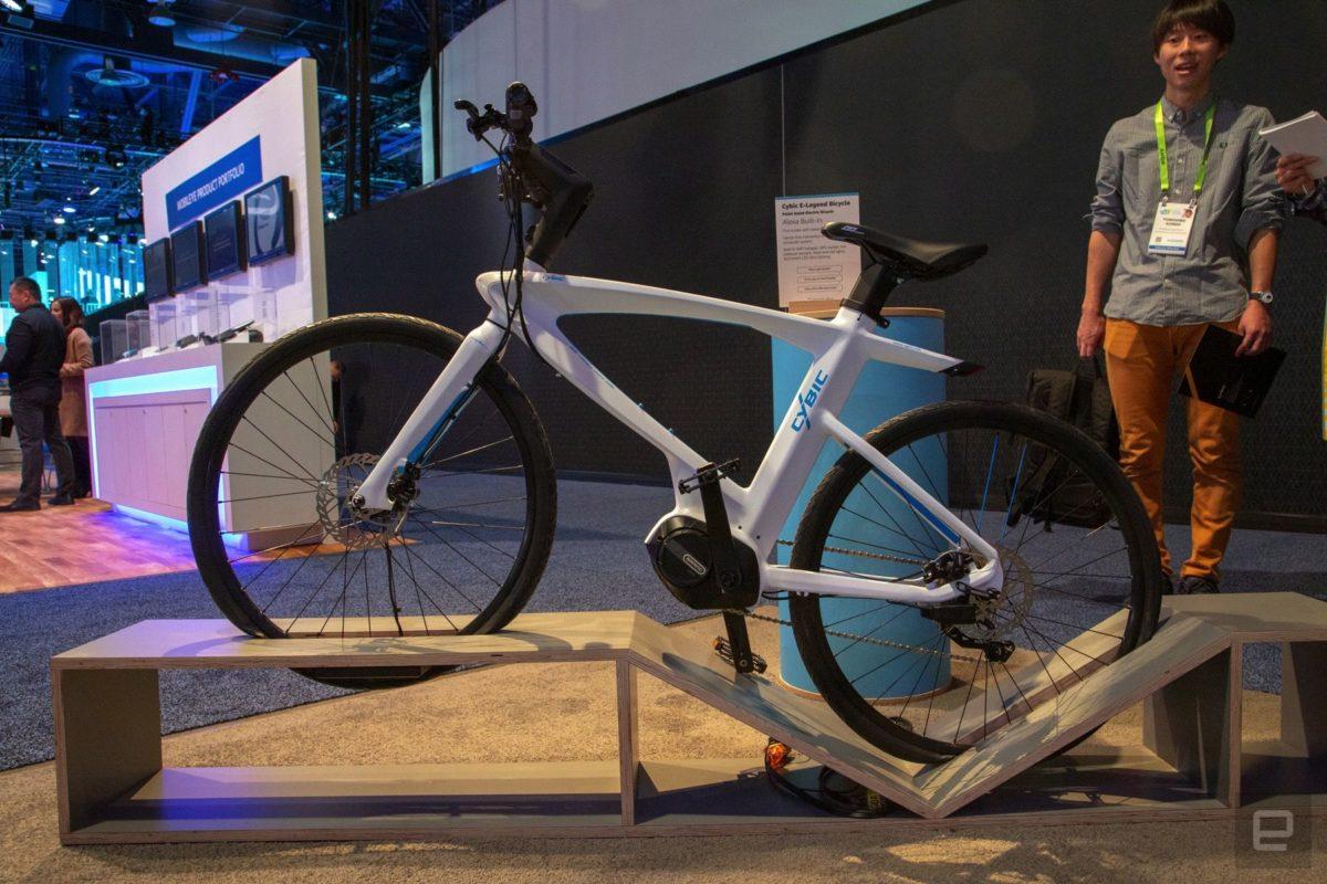 Cybic E-Legend la prima bike con Alexa