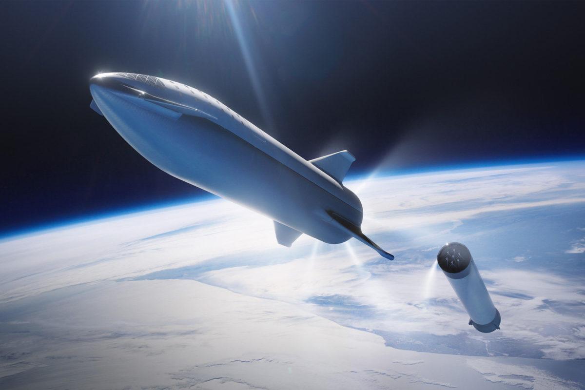 SpeceX l'illustrazione del prossimo razzo