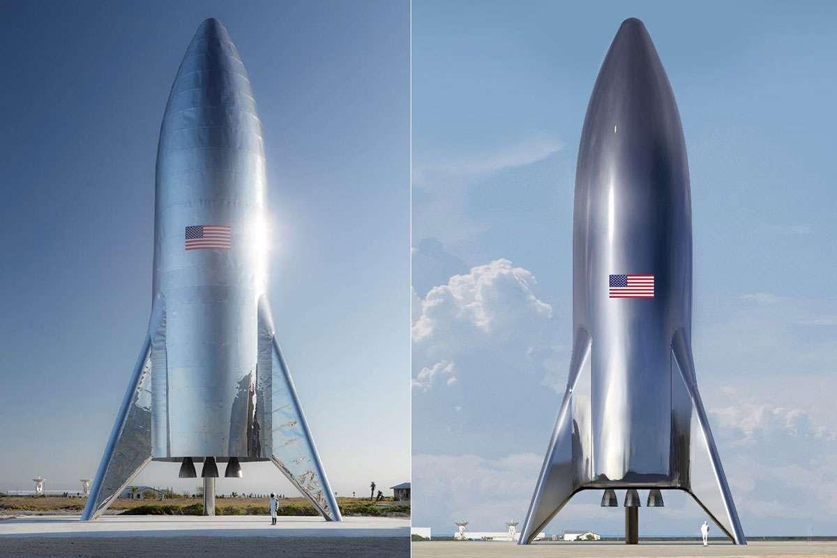 Raffiche di vento danneggiano prototipo di Starship di SpaceX