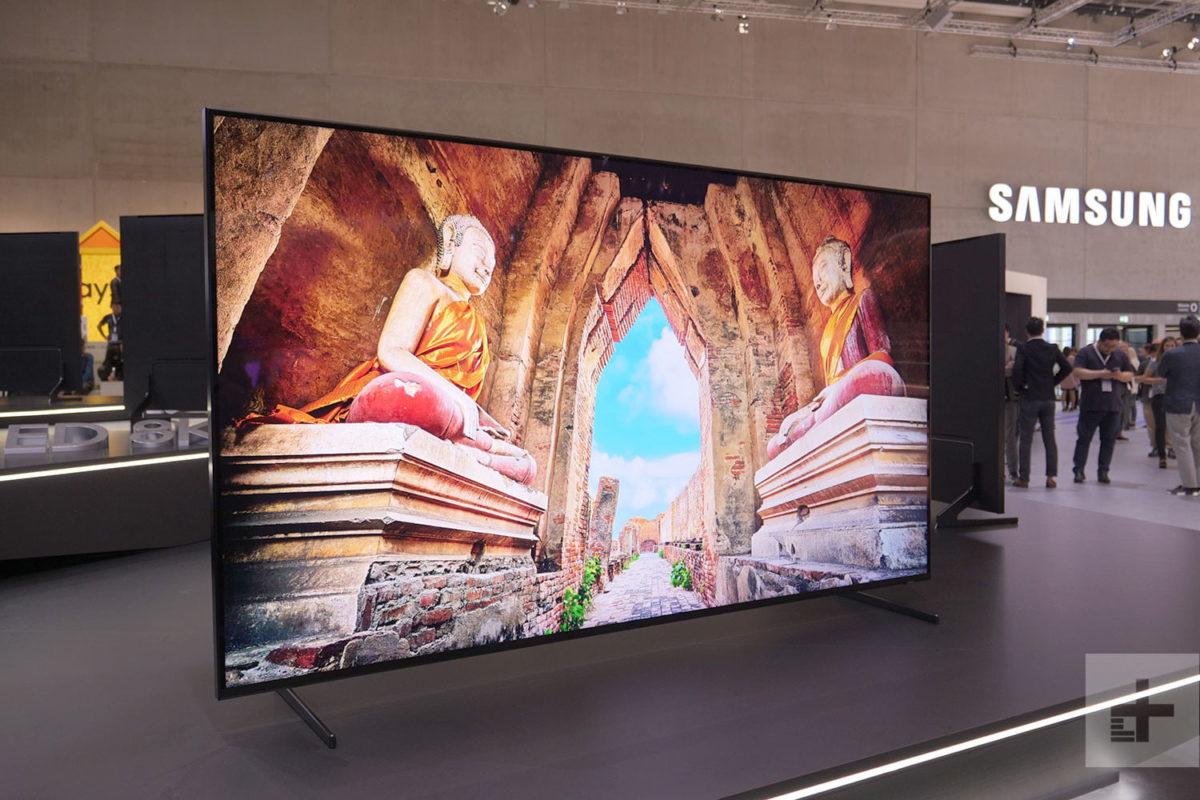Primo Tv 8K QLED da 98″ Samsung