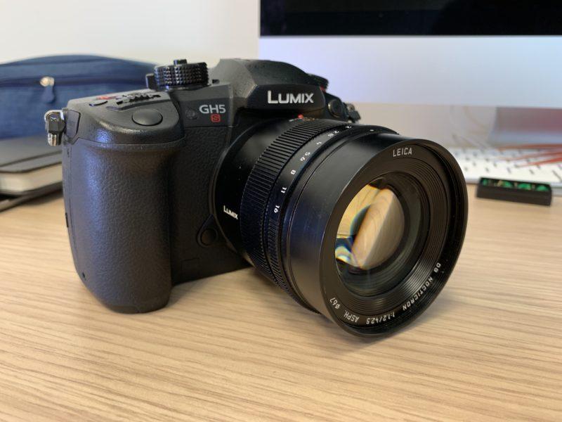 Lumix Panasonic GH5S + 42,5 mm Leica | Recensione