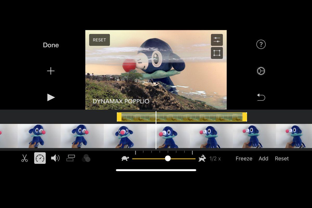 Green Screen nel nuovo aggiornamento di iMovie?