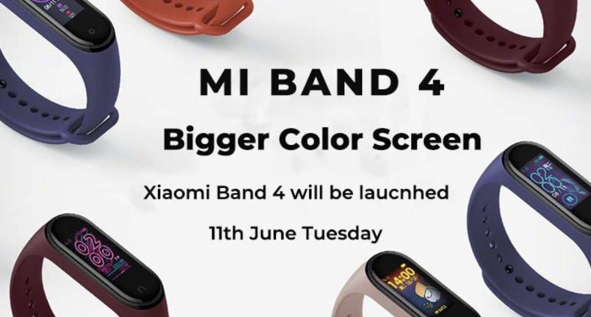 Xiaomi MiBand 4 in Pre ordine