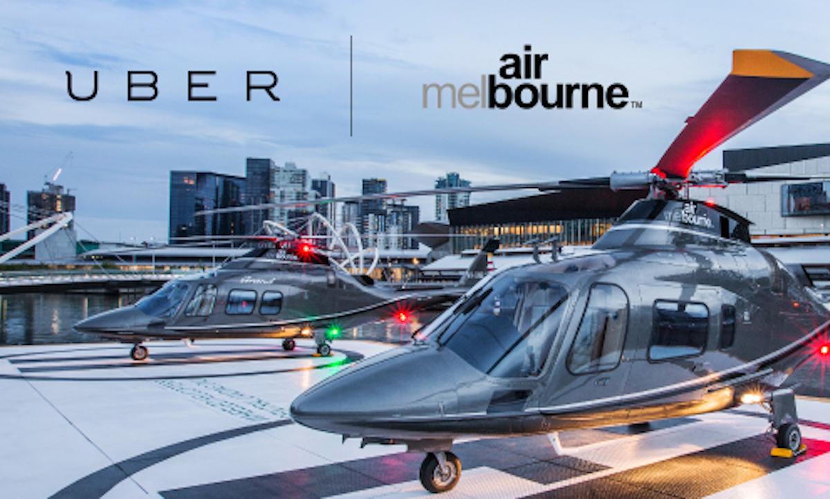 Uber pensa al trasporto in elicottero
