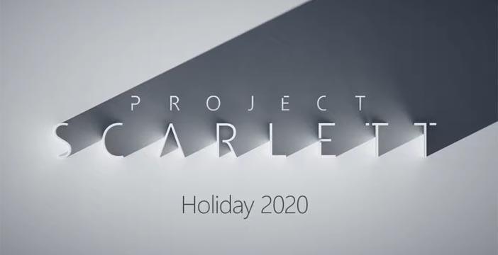 Xbox Scarlett presentato all'E3 2019