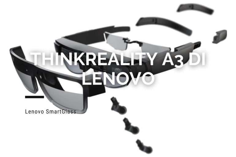 ThinkReality A3 di Lenovo